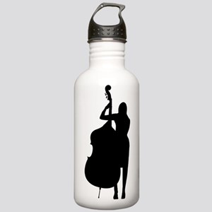 Double Bass Player Stainless Water Bottle 1.0L